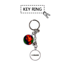 Youpop KPOP BIGBANG GD G-DRAGON Album Photo Key Chains Fashion Personalized Metal Key Ring Pendant Keyring YSL105(China)