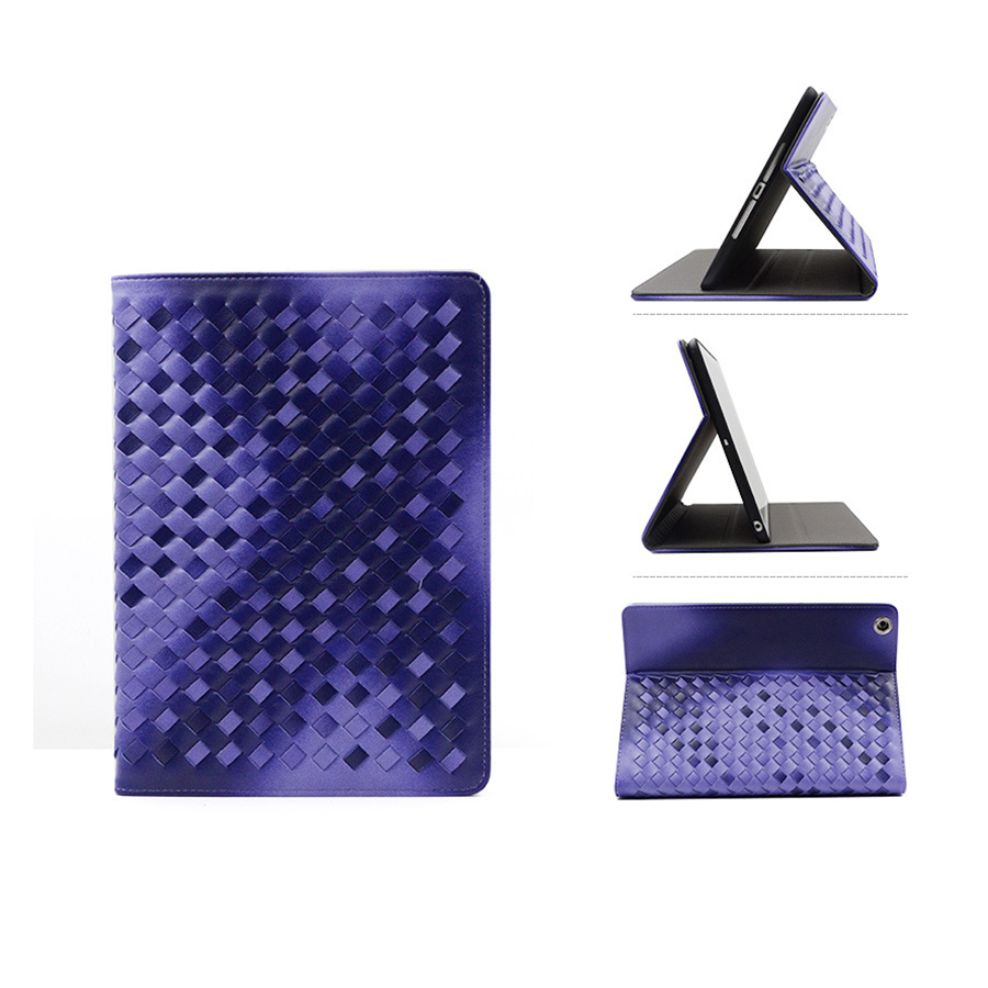 Macada For iPad Pro 9.7 mini Case, Manual Knitting Fashion Preimium Leather Case for iPad pro 9.7 Inch,Top Grade Smart Cover