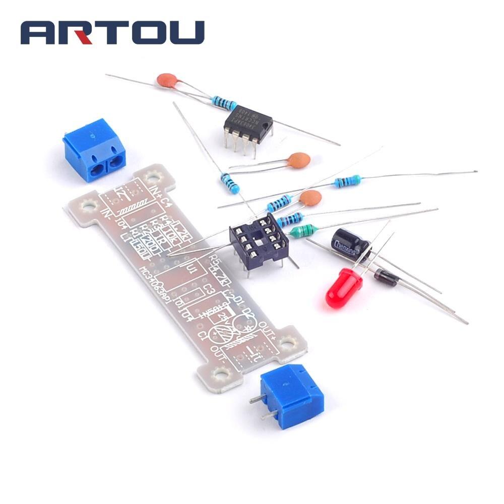 1kit Power Module Boost Module 5V + 12V Boost MC34063 Module DIY ...