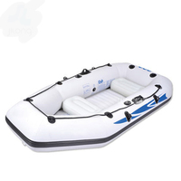 3 +1 preson inflatable boat inflatable boat size 284*132*38cm PVC Material, remelt aluminum, hand pump, carrying case, 2 pillows