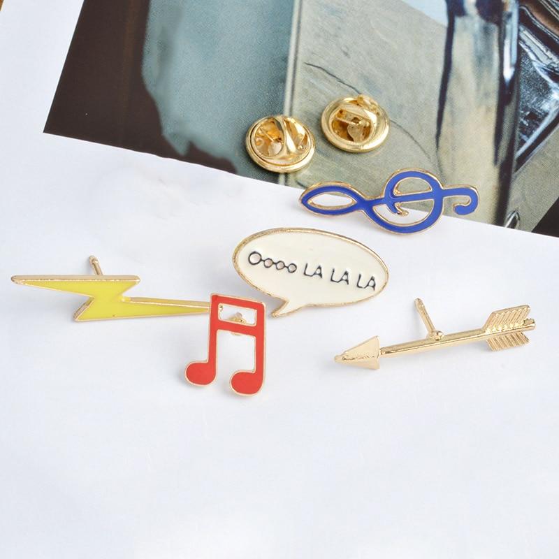 Moda emalia broszka szpilki przypinki na guziki 6 sztuk / zestaw Cute - Modna biżuteria - Zdjęcie 4