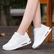 Top 2017 mujeres de Los Zapatos Corrientes de aire Luz caliente Equilibrio Transpirable Sneakers Textile calidez Invierno pu lether Confort Calzado Deportivo