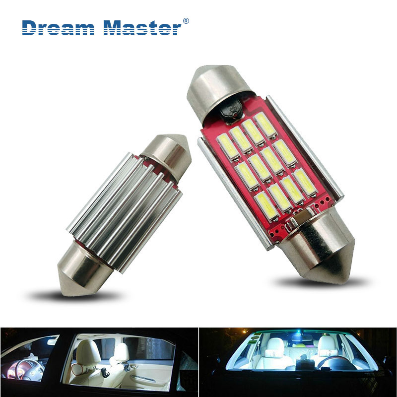 ig Quality 31mm 36mm 39mm 42mm C5W C10W Super Brigt 4014 SMD Car LED