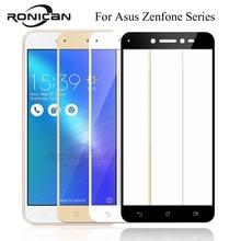 מלא כיסוי מזג זכוכית עבור Asus Zenfone 3 מקסימום ZC520TL ZB553KL ZD553KL ZC553KL ZE520KL ZE552KL לחיות ZB501KL מסך מגן
