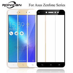 Image 1 - FUll Cover Tempered Glass For Asus Zenfone 3 Max ZC520TL ZB553KL ZD553KL ZC553KL ZE520KL ZE552KL Live ZB501KL Screen Protector
