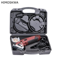 HIMOSKWA 400w Multifunctional Power Tool Electric Trimmer Metal Working Tool Woodworking Tools Electric Saw Set