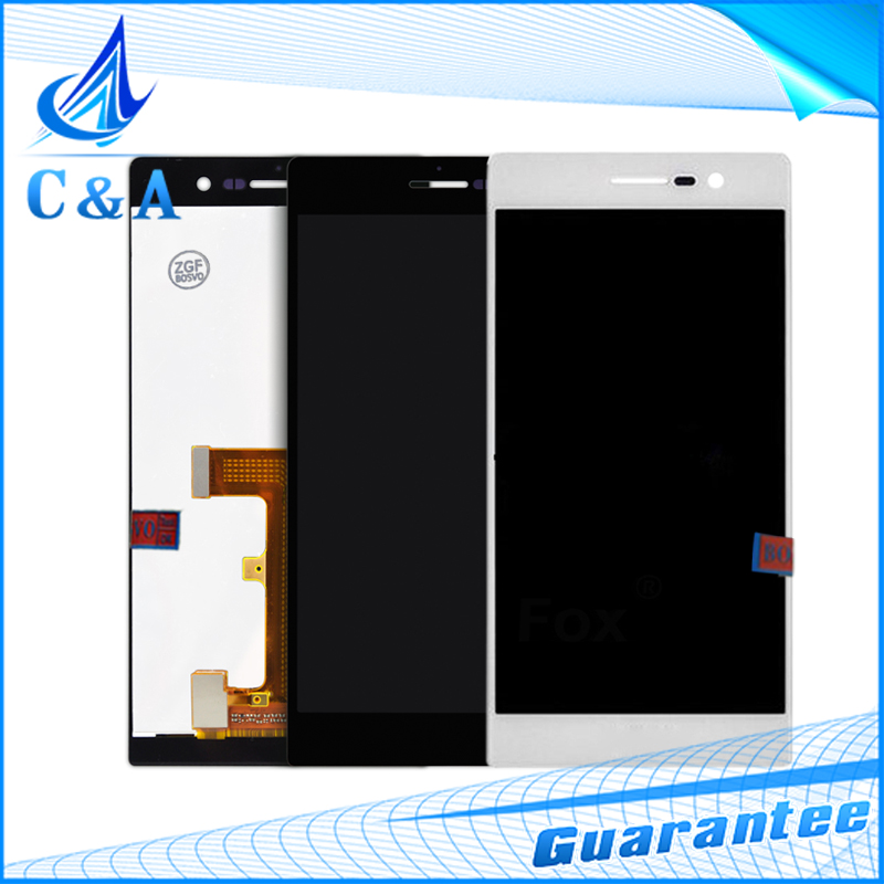 1 piece replacement repair part 5 inch screen Huawei Ascend P7 lcd display touch digitizer - C&A Electronics Limited store