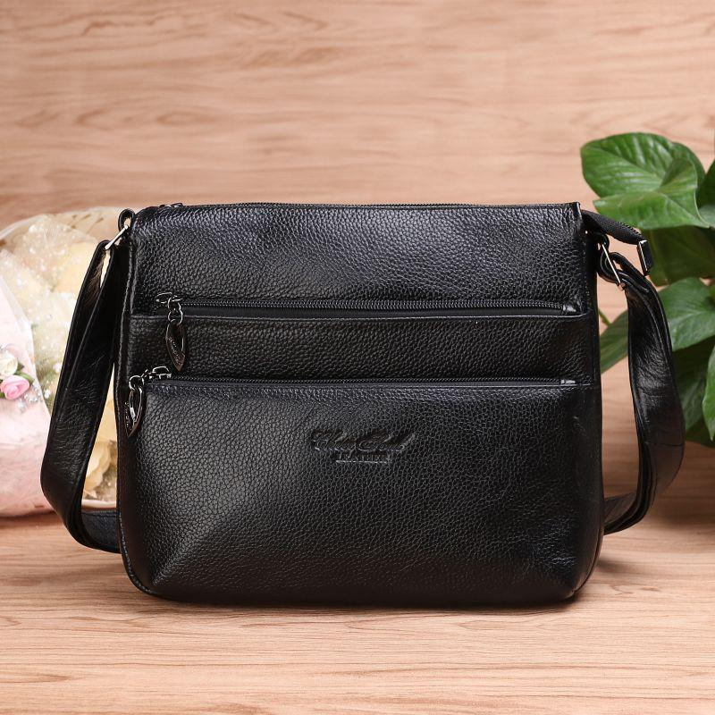 CHEER SOUL Leather Luxury Handbags Women Bags Designer Women Messenger Bags Summer Bag Woman Bags For Women Black Sac A Main cheer