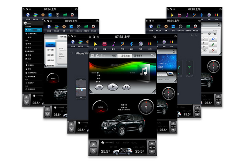 Discount LiisLee Car Multimedia GPS Hi-Fi Audio Radio Stereo For TOYOTA Land Cruiser Prado J150 LC150 2018 Original Style Navigation NAVI 3