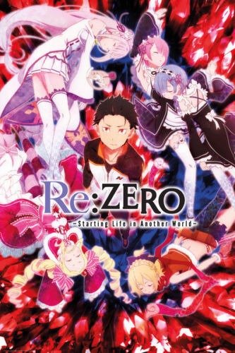 RE:ZERO - ANIME  SILK POSTER Decorative Wall Painting 24x36inch