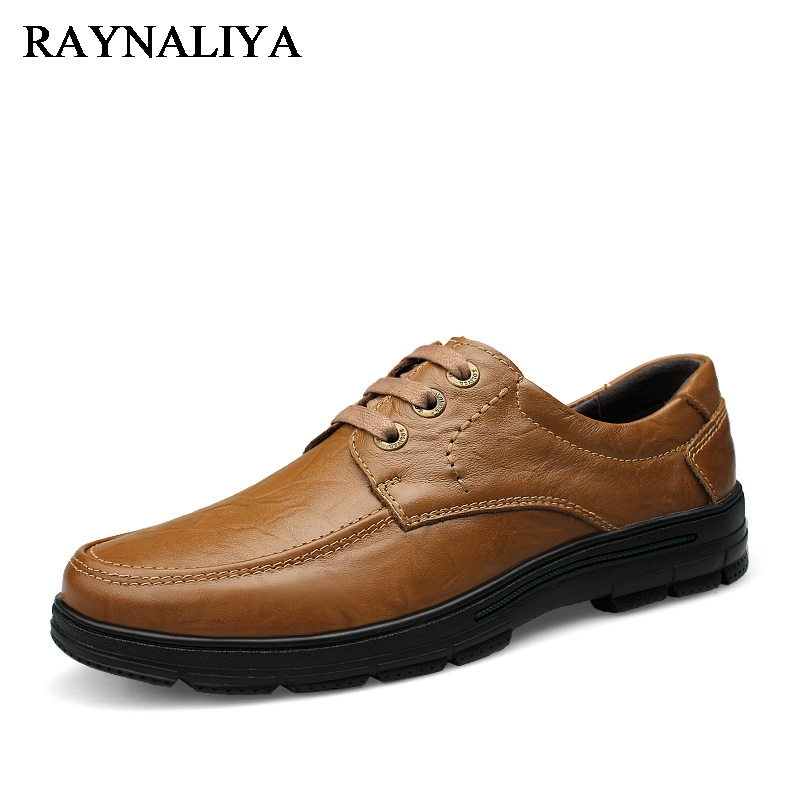 New England Martin Boots Large Size 36-47 Genuine Cow Leather Mens Shoes Lace-up Men Casual Shoes Male Oxfords Shoes LB-A0021 fashion men s shoes yellow black brown europe style genuine leather male martin boots large size 45 casual flats huarche boty