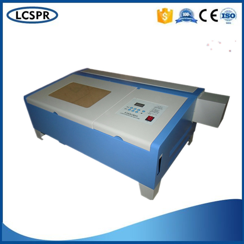 Hot sale! more power ! CO2 mini laser engraving machine with 50w laser tube for cutting cloth,engraving wood hot sell high quality cw3000 water chiller cooling laser tube for laser machine