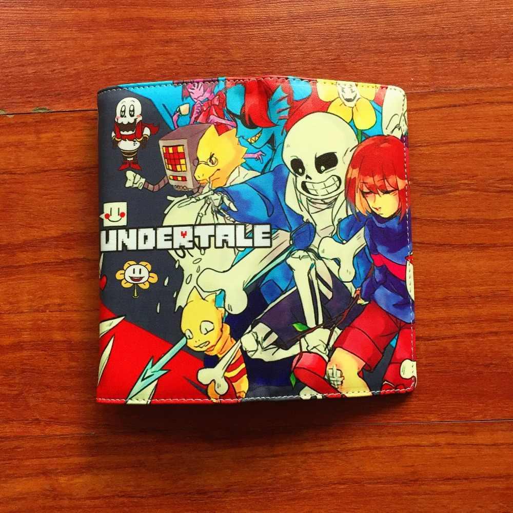 2018 аниме Cartppn кошелек Undertale SansPapyrus длинный стильный кошелек из искусственной кожи с несколькими держателями карт кошелек L055