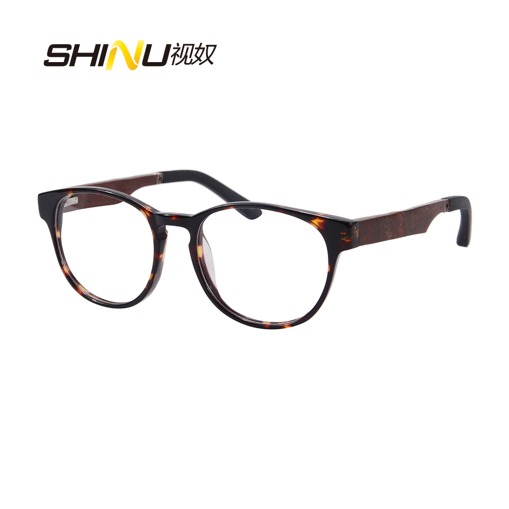See Near And Far Eyeglasses Anti Blue Ray Computer Reading Glasses Women Men Bifocal Eyewear Hyperopia