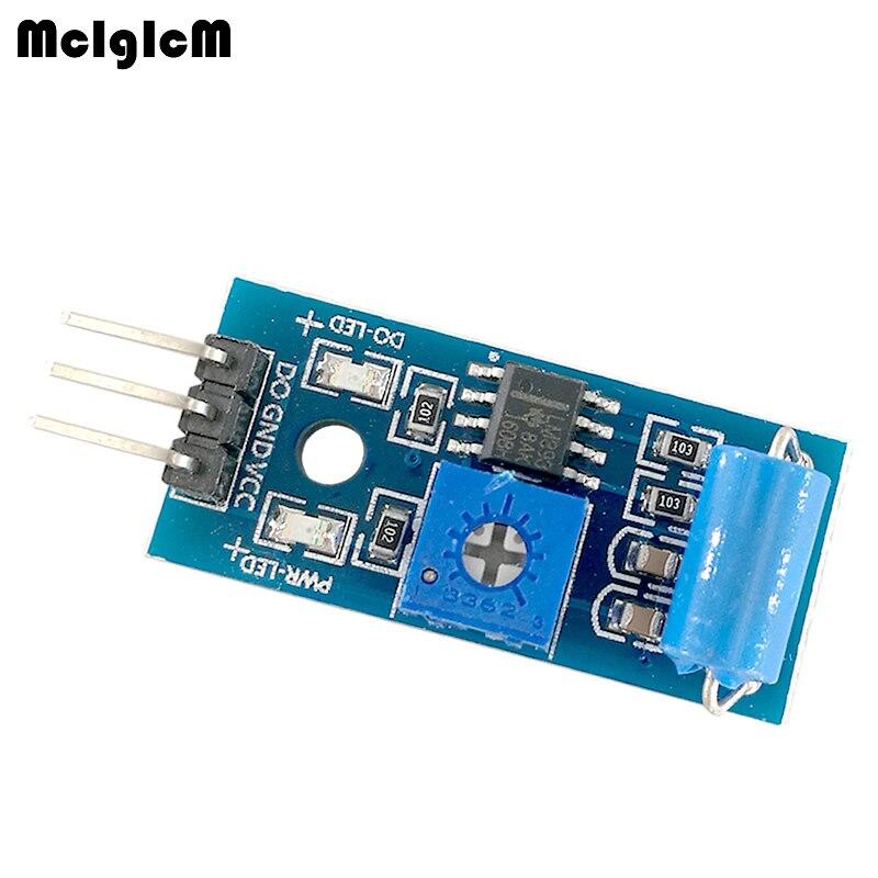MCIGICM 100pcs SW 420 Normally Closed Alarm Vibration Sensor Module Vibration Switch ASAF