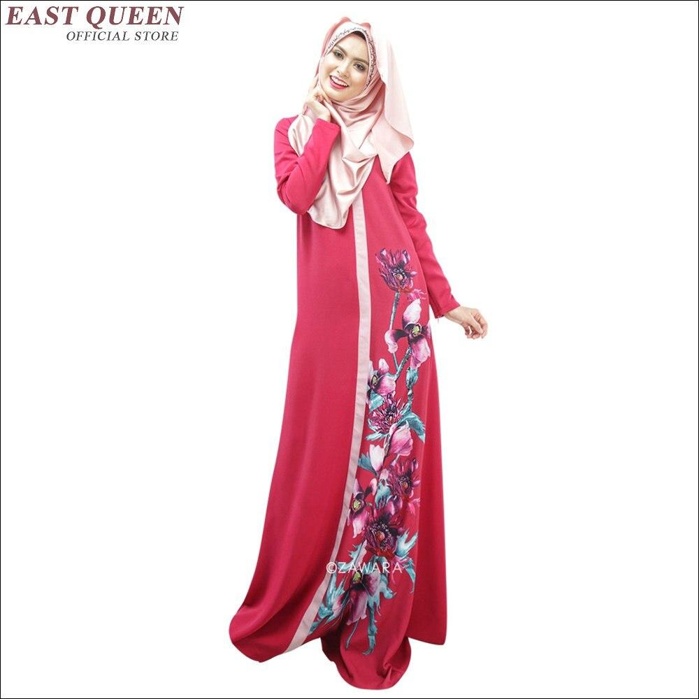 5a997791a223 Le donne musulmane si vestono donne musulmane vestito lungo manica lunga  musulmano vestito AA1431X