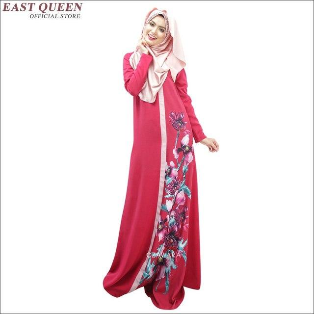 cf583261d4815 Muslim women dress muslim women long dress long sleeve muslim dress AA1431X