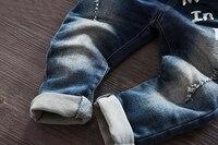 Практичный джинсовый комбинезон #2