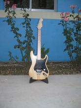 лучшая цена Free shipping   EVH  unfinished guitar no paiting  basswood body  guitar kits  Diy guitar