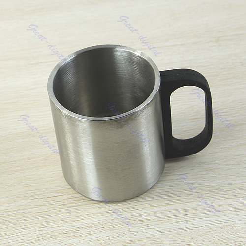 Stainless Steel Coffee Mug Tumbler Camping Double Wall Bilayer Cup Freeshipping In Mugs From Home Garden On Aliexpress Alibaba Group