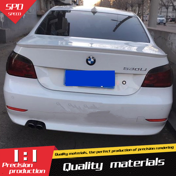 for bmw e60 spoiler high quality abs carbon fiber car rear. Black Bedroom Furniture Sets. Home Design Ideas