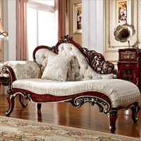 Villa sofa set longue luxury model furniture