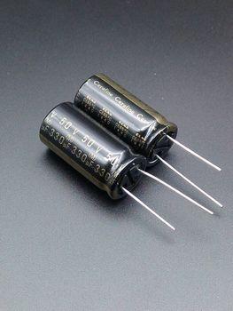 2020 hot sale 10pcs/30pcs ELNA ROA Cerafine 330uF/50V origl genuine audio electrolytic capacitors free shipping