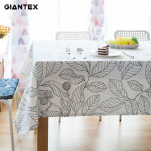 Giantex Decorative Table Cloth Cotton Tablecloth Rectangular Tablecloths Dining Table Cover Obrus Tafelkleed mantel mesa nappe