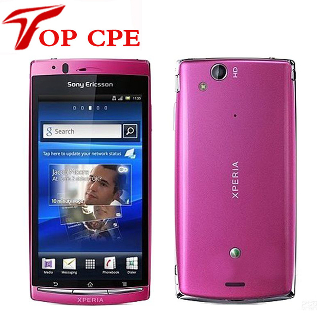 1 Year warranty LT18I Original Sony Ericsson Xperia Arc S LT18i Cell Phone 3G Android 2.3 WIFI A-GPS 4.2 TouchScreen 8MP Camera