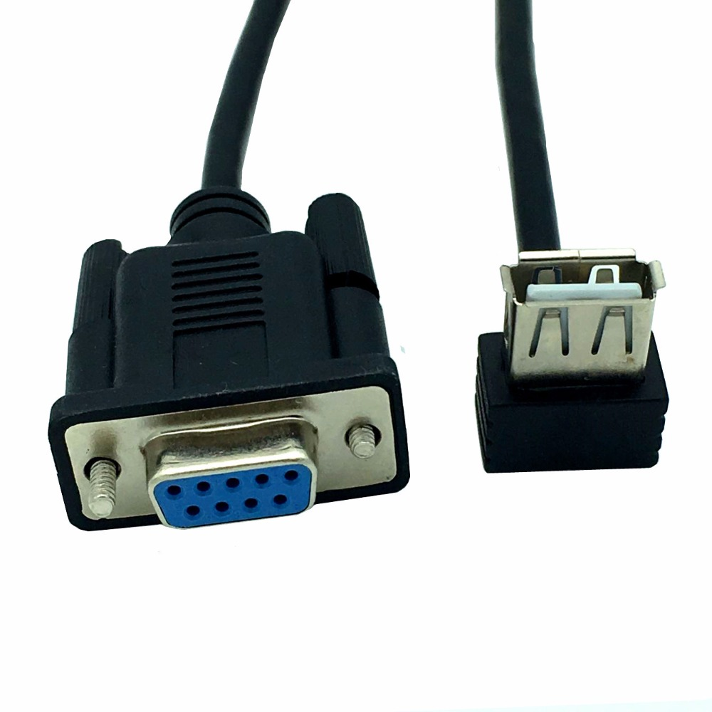 Rs232 Female Serial Conversion Cable Db9 Female To Usb A