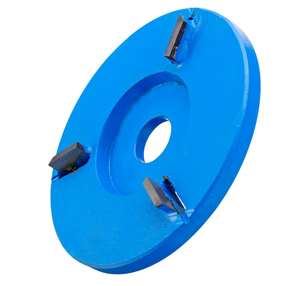 90mm Arc/Flat Teeth Plane Wood Carving Disc Tool Milling Cutter For 16mm Aperture Angle LB88
