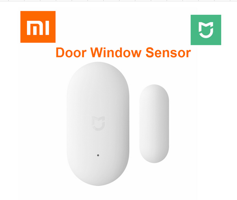 2018 Xiaomi Door Window Sensor Pocket Size xiaomi Smart Home Kits Alarm System work with Gateway mijia mi home app
