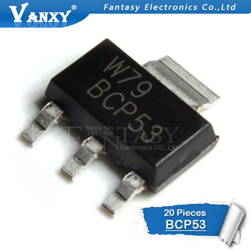 20PCS BCP53 SOT BCP53 SOT223 SMD SOT-22320PCS BCP53 SOT BCP53 SOT223 SMD SOT-223