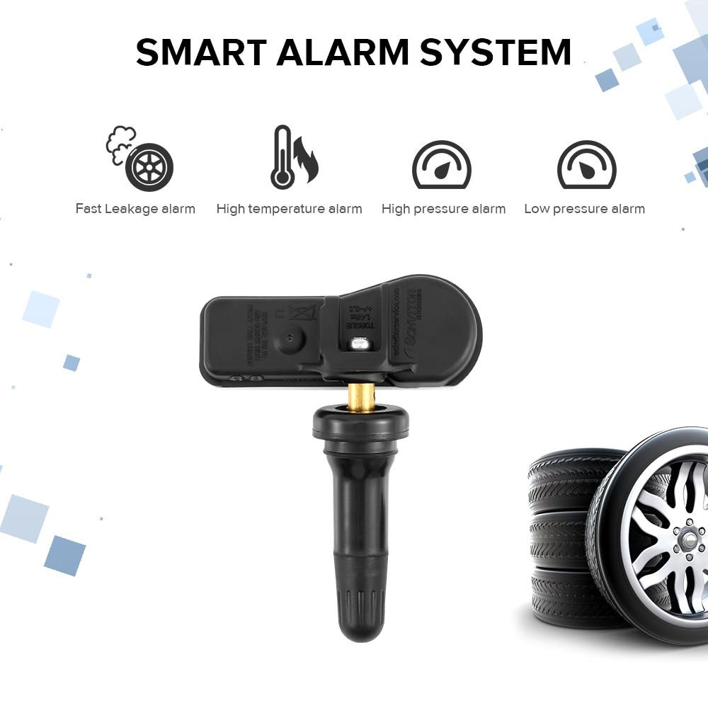 4 stücke Auto Reifendruck Sensor Auto TPMS Tire Pressure Monitoring System Sensor 52933C1100 Für Hyundai Sonata Tucson 52933-C1100