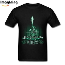 The Legend of Zelda Link T Shirts Men Game T-shirt Cool Cotton Casual New 3D Printed T Shirts Men Clothing Tops Tees