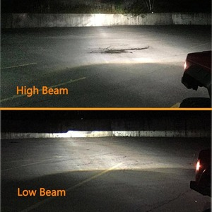 Image 4 - 90W 7X6 5X7 LED Headlight Arrows White DRL Amber Turn Signal For Jeep Wrangler YJ Cherokee XJ Trucks H4 LED Square Headlights