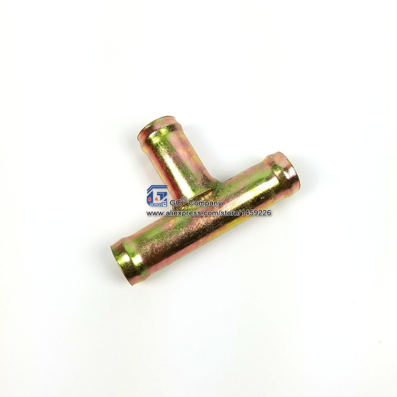 5/8'' ( 16mm ) 3-Way T Tee Fitting Heater Hose Connector