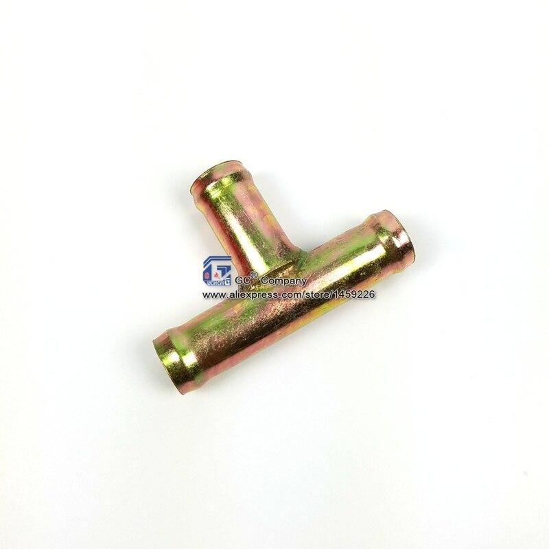 5/8 ''(16mm) 3-Way T złączka teowa wąż grzewczy złącze