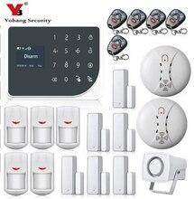 YoBang Security WIFI GSM Alarm System Spain Russian Voice Burglar Alarm System Home Security IP Camera