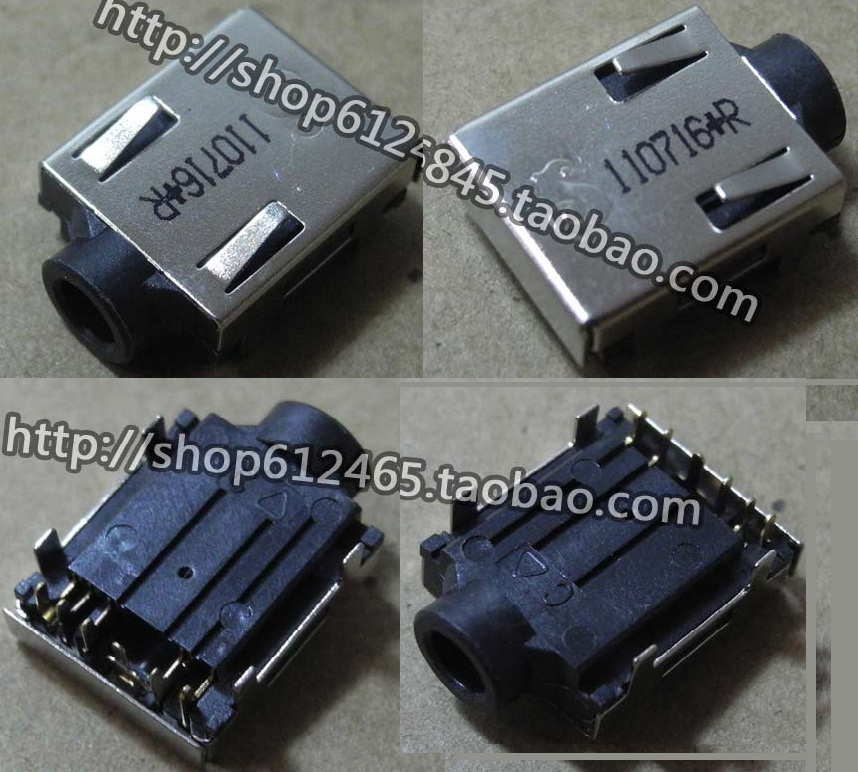 NEW Free Shipping for Dell Sony Toshiba Samsung Headphone Jack Audio Interface Connector Plug Interface