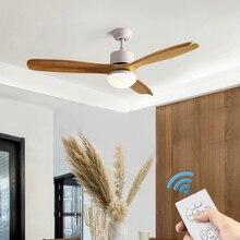 TRAZOS Led Ceiling Fan With Lights For Living Room Ventilateur de plafon 220V Fans Lamp Bedroom Cooling Lighting