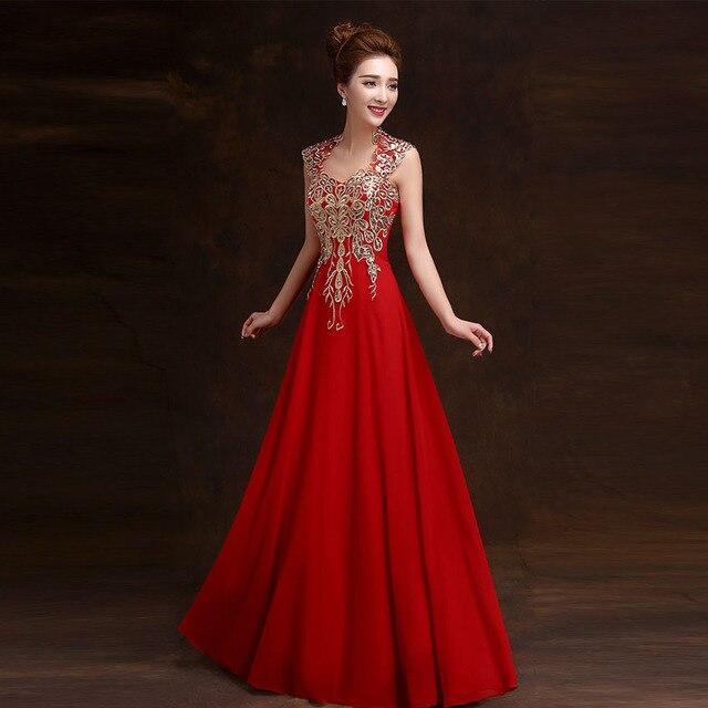 Aliexpress.com : Buy 2015 A line Long Dress Evening Elegant ...