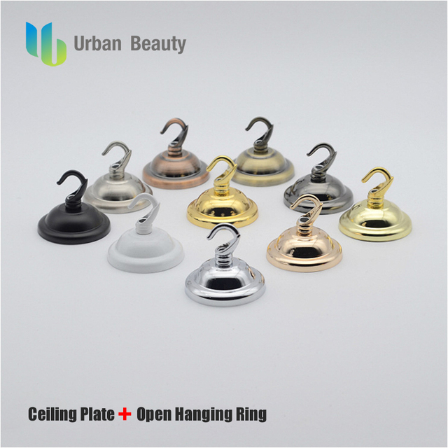 Urban beauty metal ceiling cover plate hook pendant lamp urban beauty metal ceiling cover plate hook pendant lamp decoration lamp holder accessories crystal chandelier parts mozeypictures Image collections