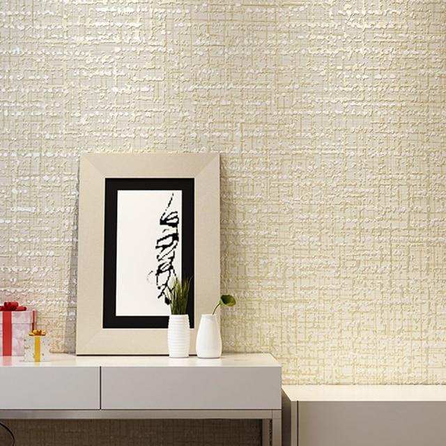 Modernen Einfarbig Wandbild Lila Grau Beige Non Woven Tapeten für ...