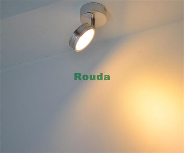 Modern Simplicity LED Wall Lamps Silver Bedroom Bedside Lamp Children s Reading Corridor Light Direction Adjustable
