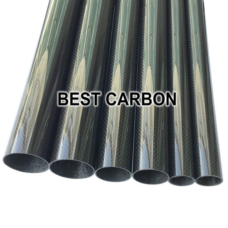 Free shiping OD4mm,5mm,6mm,7mm,8mm,9mm,10mm12mm with 500mm length High Quality Plain glossy 3K Carbon Fiber Fabric Wound Tube dmiotech 4 pcs replacement electric motor carbon brushes for motors 10mm 11mm 13mm 5mm 6mm 7mm 8mm 9mm