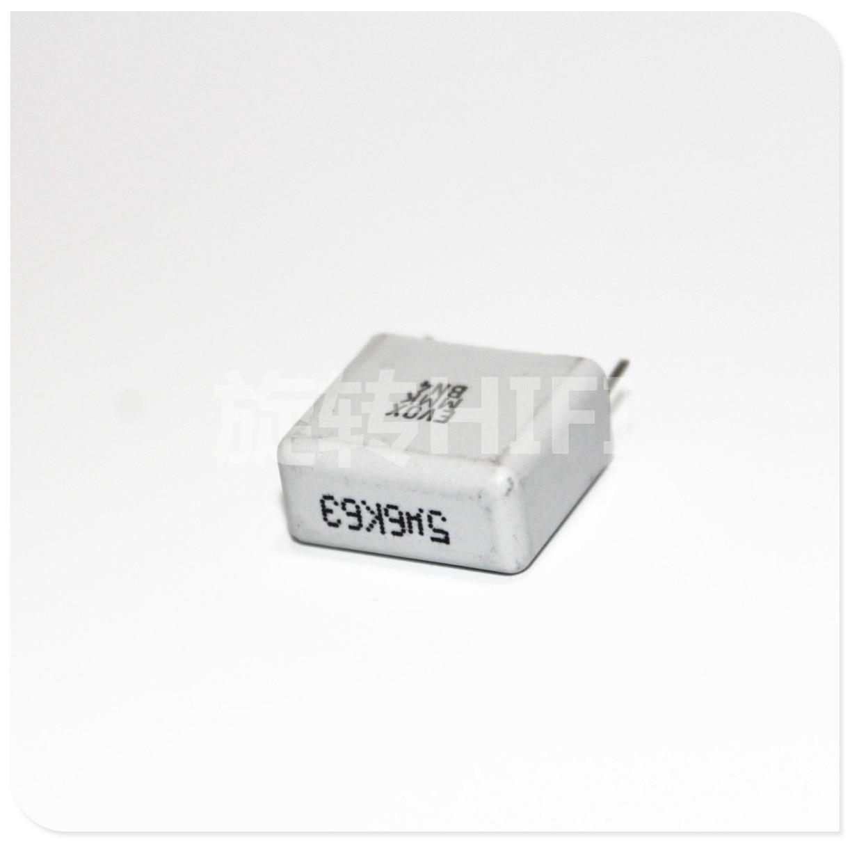 20pcs Evox Mmk15 5u6 56uf 565 63v New Fever Audio Film Coupling Capasitor Mkm 100nf 104 Capacitor P15 Free Shipping