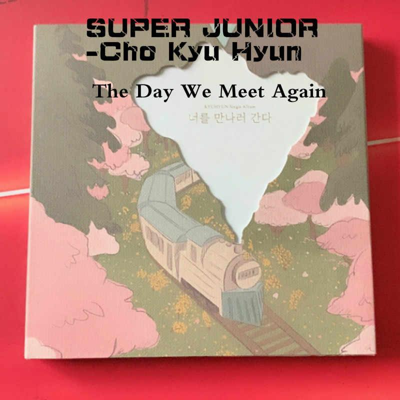 [MYKPOP] ~ 100% OFFICIËLE ORIGINELE ~ SUPER JUNIOR-Cho Kyu Hyun: de Dag We Elkaar Weer Album CD-SA19061902-Mint ver.
