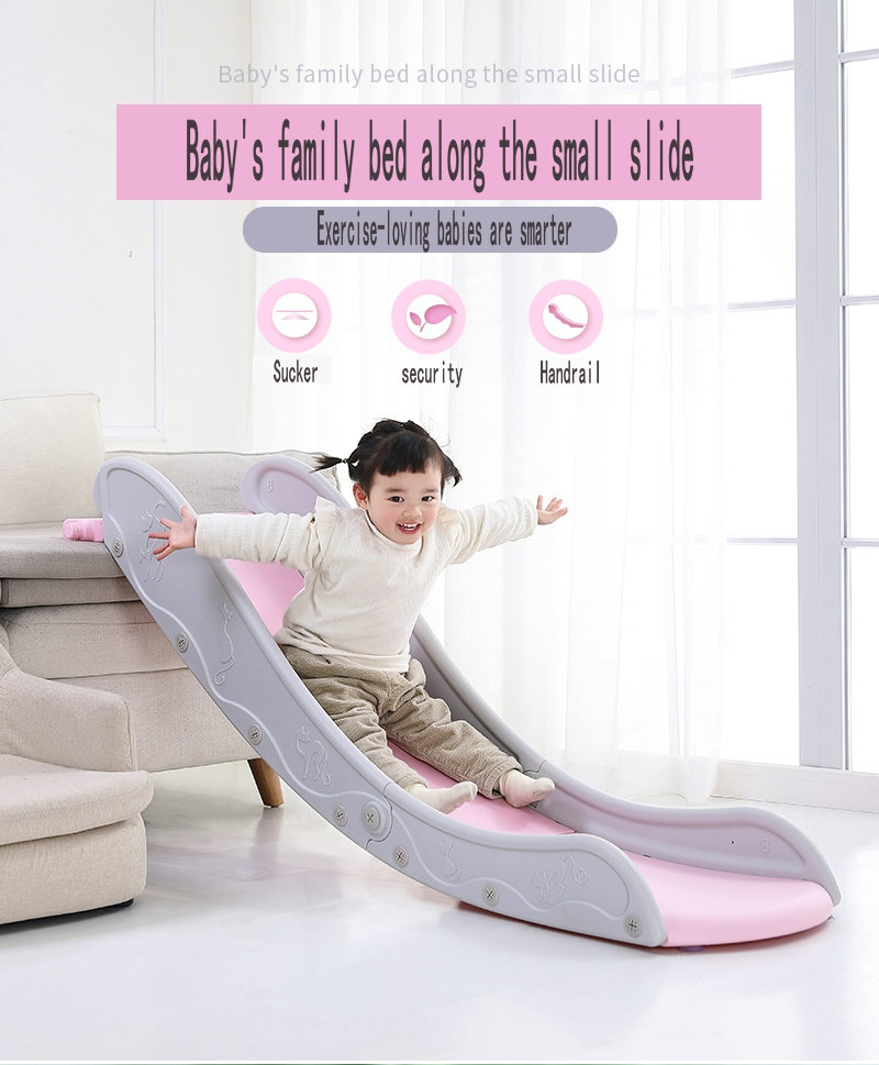 Children's Indoor Slide, Children's Amusement Slide Folding Slide Children's Beds Along Small Slides