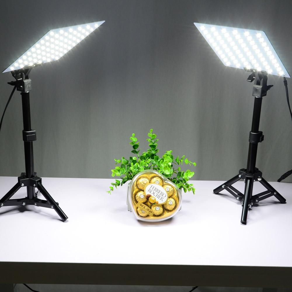 LED Video Light Kits Small Photo Studio Softbox Shooting Mini Photo Box 2Pcs*45cm Light Stand +2Pcs*LED Light Board+4Pcs*Clips-in Photo Studio Accessories ... & LED Video Light Kits Small Photo Studio Softbox Shooting Mini Photo ...